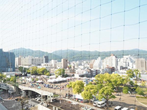バルコニーからの眺望です。11階部分につき日当たり・通風・眺望良好♪
